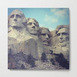 Mount Rushmore II Metal Print