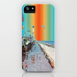 Boardwalk Rainbow iPhone Case