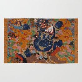 Yamantaka, Destroyer of the God of Death Rug