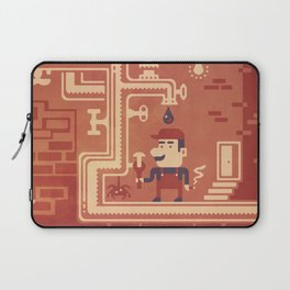 Mario at work Laptop Sleeve