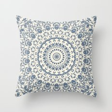 Granny's Old Lace Throw Pillow