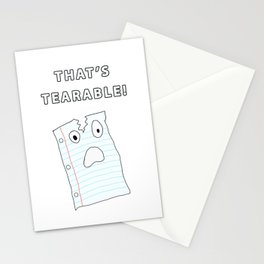 That's Tearable Stationery Cards