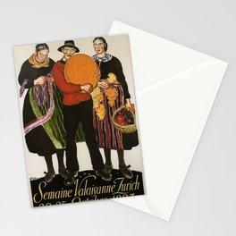Vintage poster - Zurich Stationery Cards