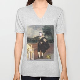 Portrait of the Artist as a Young Man Unisex V-Neck
