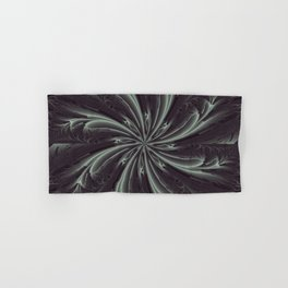 Out of the Darkness Fractal Bloom Hand & Bath Towel