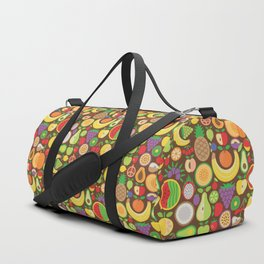 Fruit Patten Duffle Bag