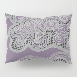 Just a Squiggle Here and There - Purple Pillow Sham