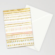 GOLD TRIBE Stationery Cards