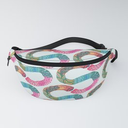 S for Sophie - Unique, personalised initial print. Fanny Pack