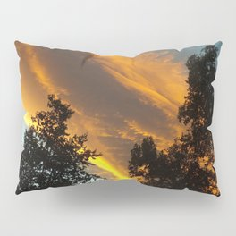 Sky Flame  Pillow Sham