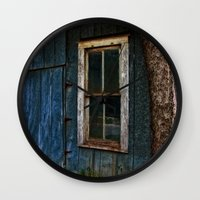 number Wall Clocks featuring Number 34 by Mark Alder