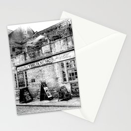 The Anchor Pub London Art Stationery Cards