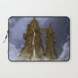 Mountain Castle  Laptop Sleeve