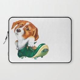 A little dog in a spike Laptop Sleeve