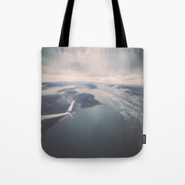 Soaring over Seattle Tote Bag