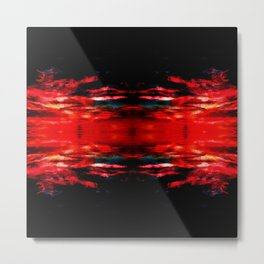 Project 60.45 - Abstract Photomontage Metal Print