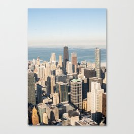 Vintage Chicago Overlook Canvas Print