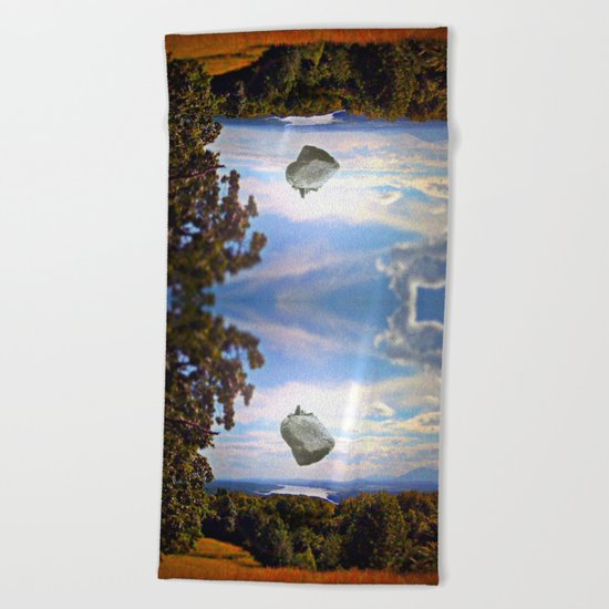 Mountain House Beach Towel
