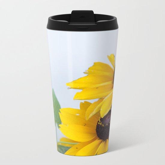 Little Sunflowers #1 #decor #art #society6 Metal Travel Mug
