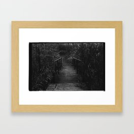 A Place to Escape Framed Art Print