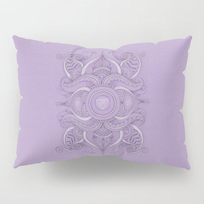 Mandala Ajna Chakra Pillow Sham