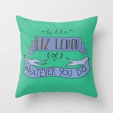 Liz Lemon Throw Pillow