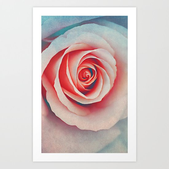 Romantic rose(7). Art Print