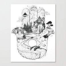 Hamsa in Nature Canvas Print