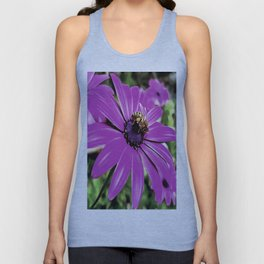 Honey Bee On A Spring Flower Unisex Tank Top