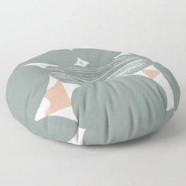 Pondering Formations Floor Pillow