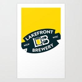 LogoTall Art Print
