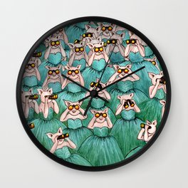 Watching, Waiting Wall Clock