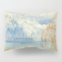 "J.M.W. Turner ""The Lake of Lucerne from Fluelen"" Pillow Sham"