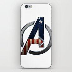 UNREAL PARTY 2012 THE AVENGERS  CAPTAIN AMERICA  iPhone & iPod Skin