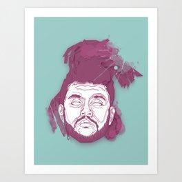 The Hils  Art Print