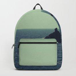 Santorini, Greece 12 Backpack