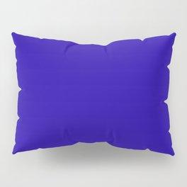 Neon Blue - solid color Pillow Sham