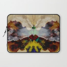 the peacock and the crane Laptop Sleeve