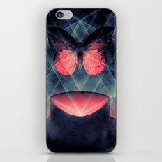 Beautiful Symmetry Butterfly iPhone & iPod Skin