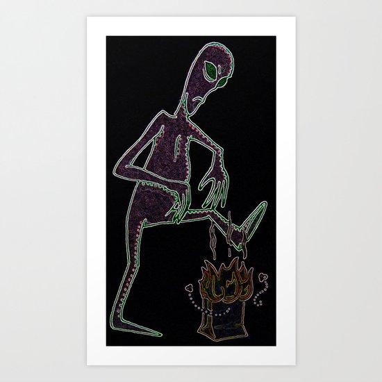 Close Encounters of the Turd Kind Art Print