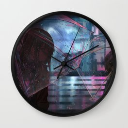 We shall meet in the place there is no darkness Wall Clock