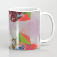 mineral Mugs featuring Mineral Fracture by Sara Cannon Art