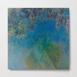 "Claude Monet ""Wisteria"" Metal Print"