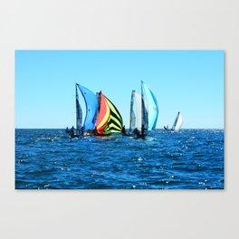 The Rainbow? Sort of  Canvas Print