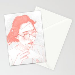 Eating Stationery Cards