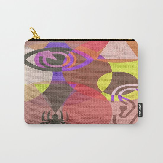 Wisdom and Fear Carry-All Pouch
