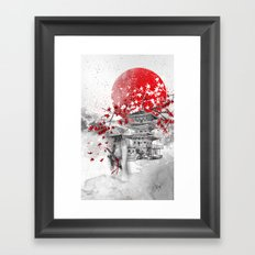 the warrior path Framed Art Print