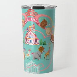 Cookies and Cream, Biscuits and Tea. Travel Mug