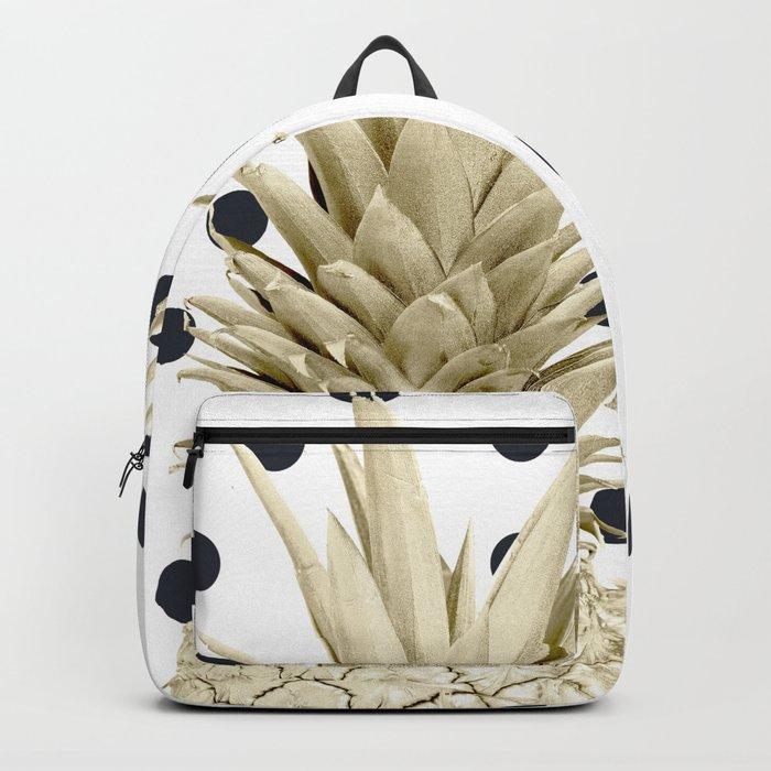Pineapple Polka Dots Backpack