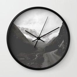 Marocco- Atlas Mountains Wall Clock